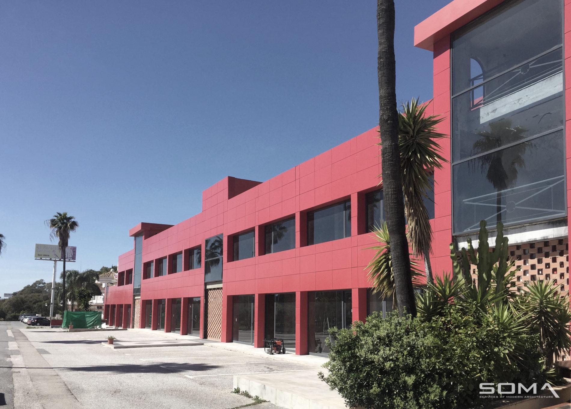 Rehabilitación y reforma Centro Comercial Atenea, Estepona