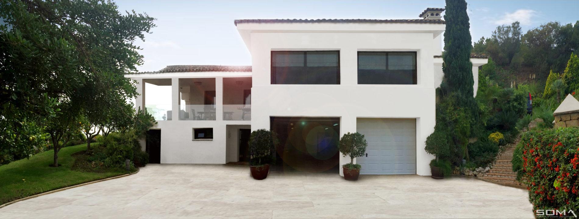 Modernización y ampliación de vivienda en La Zagaleta