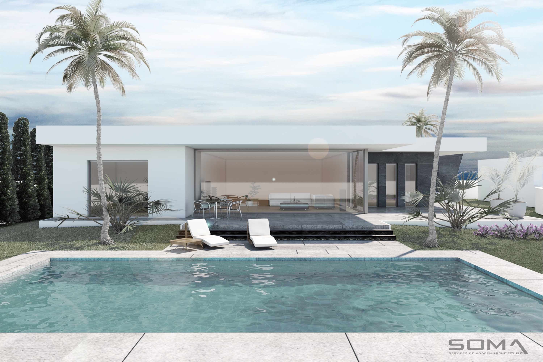 Obra nueva. Villa en Nagüeles, Marbella