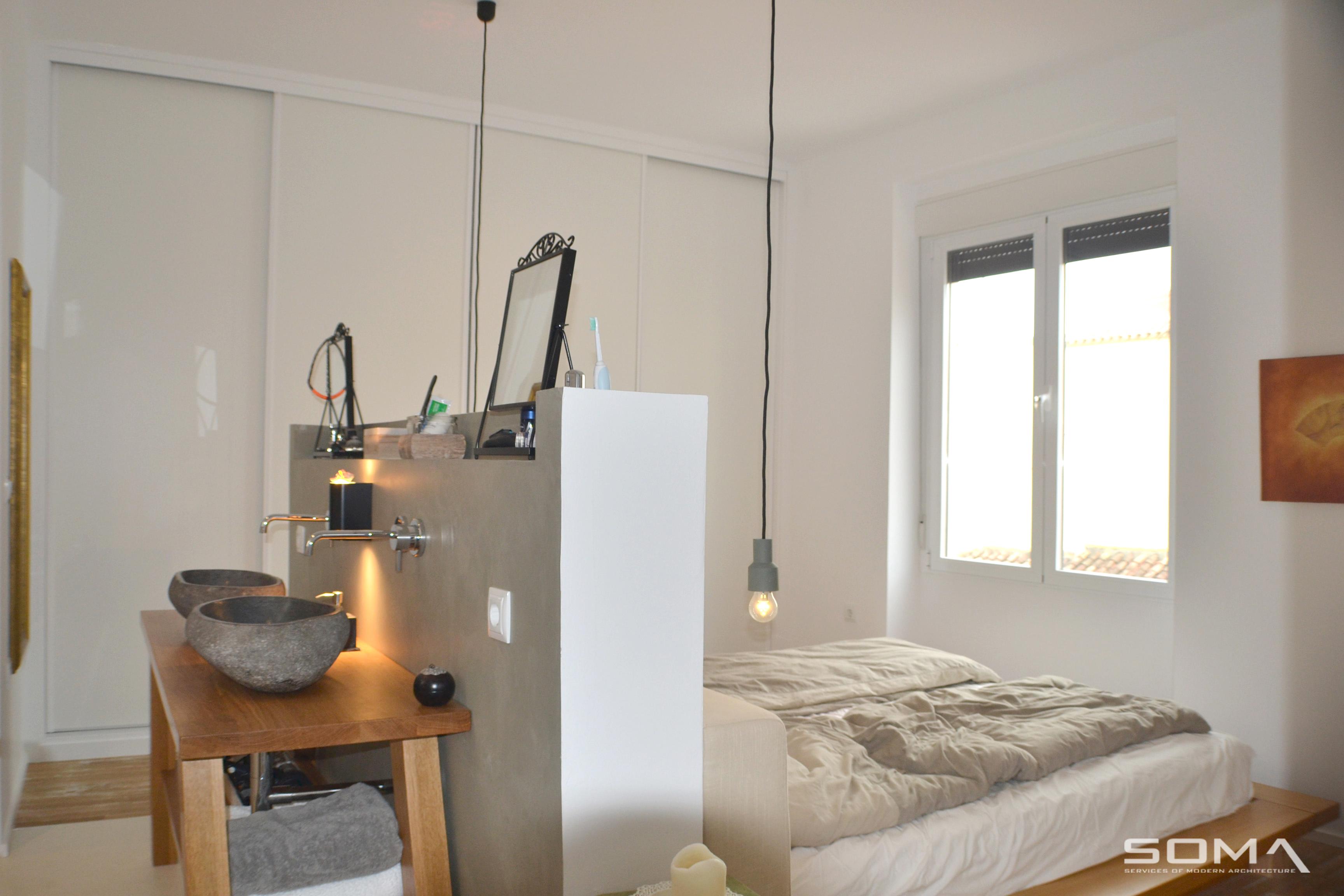 Reforma integral e interiorismo de vivienda en el centro histórico de Málaga